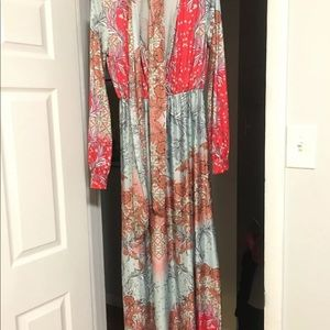 Free People Colorful Maxi dress M